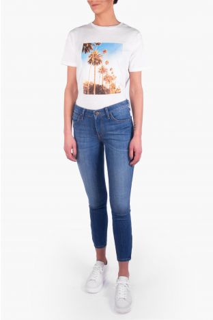 Lee Scarlett Cropped Jeans