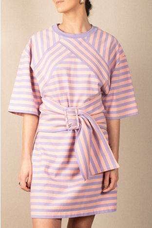 The Marc Jacobs Striped T-Shirt Dress