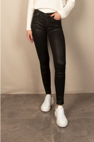 7 for all mankind The Skinny Coated Jeans