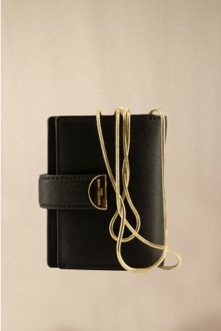 Marc Jacobs Geldbörse mit Schulterkette