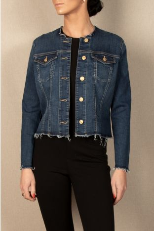 7 for all mankind Bair Jeansjacke