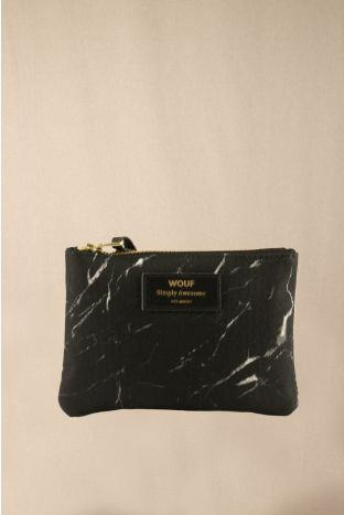 Wouf Marble Small Pouch Münzbörse