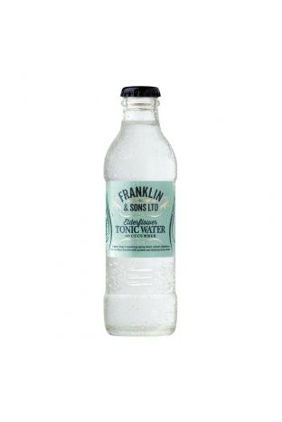 Franklin & Sons Tonic Water 200 ml Elderflower with Cucumber